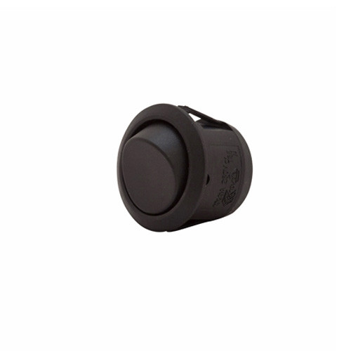 round rocker, spst, on-off, quick connect, push on terminals, black,1394151,600486,7015,7500020,rds-7500020,tsrr-85