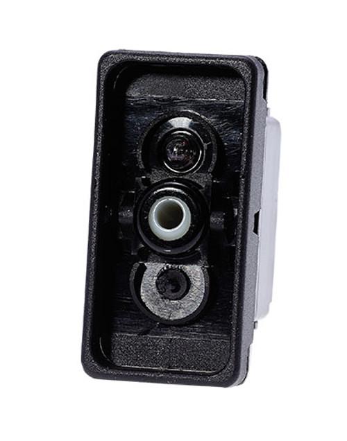 switch, marine, auto, rocker, on-off, single pole, sealed, Carling, V Series, one lamp, lit switch, LED, V1D11H01, RCV-00001270