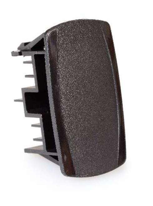 Carling V Series Panel Hole Plug, Wing serrations, Contura V, Black