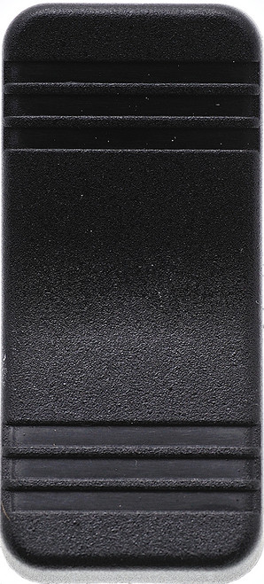 VV1ZZ00-000 V Series Contura X, Carling Actuator, Hard black, no lens, switch cap, rocker switch actuator