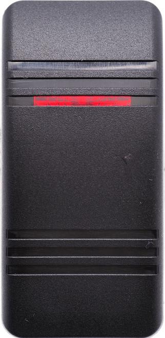 carling, actuator, v series, vvcmb00-000, soft black, 1 red bar lens