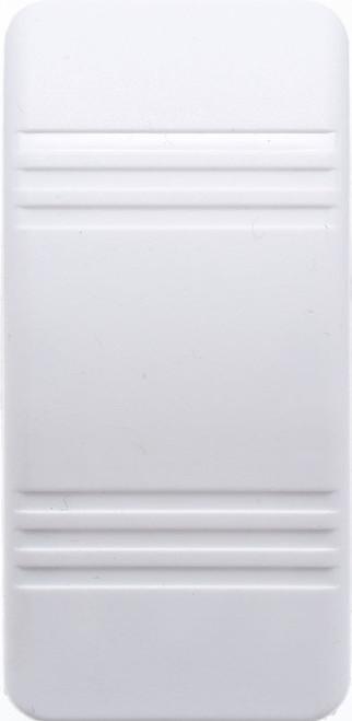 VVCZY00-000 Carling Contura 3 Hard White Actuator, no lens, rocker switch cap, actuator, v series, rocker switch,033-0490,RS-CAR-017
