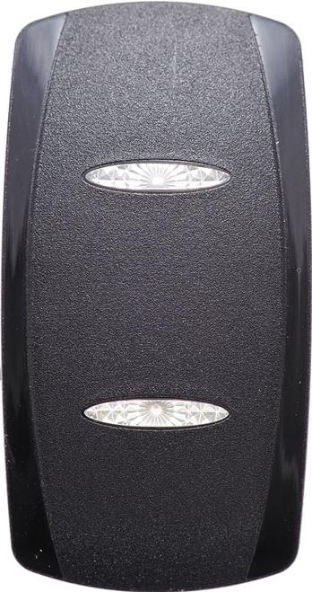 vvg2c00-000, hard black, v series, rocker switch cap, actuator, carling, contura 5, 466-05000-025