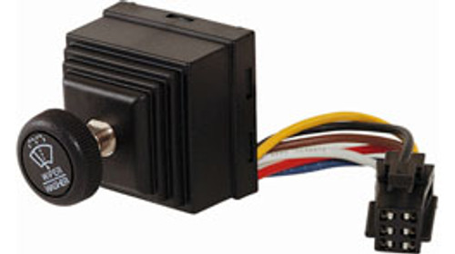 4 Position Rotary Wiper Switch, RW20012AA, wiper switch, windshield wiper, control knob, eaton, rw series