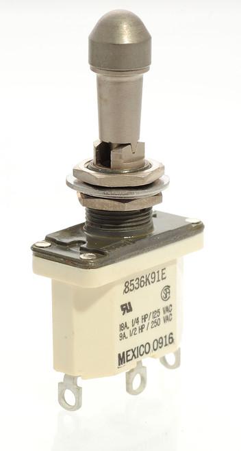 Locking Toggle, environmentally sealed, watertight, on off on, Safran, Labinal, 8536K91E