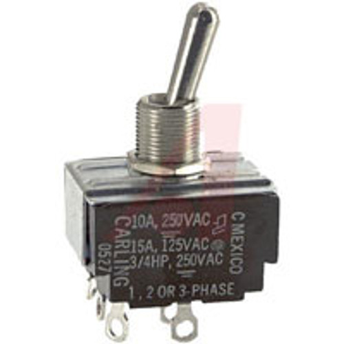 3 pole toggle switch, on off maintained, solder terminals, HK250-73, 7700k1, 0140-3010