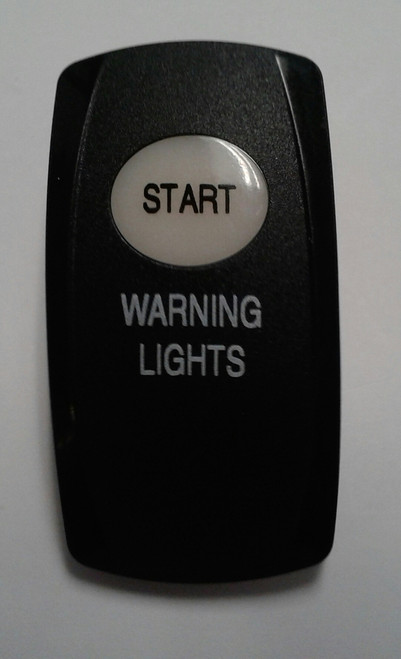 Start & Warning lights legends, Carling, actuator, V series, rocker switches,3976593