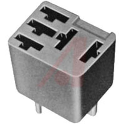 5 pin automotive micro relay socket, pc board terminals, VR05-PCB, custom connector