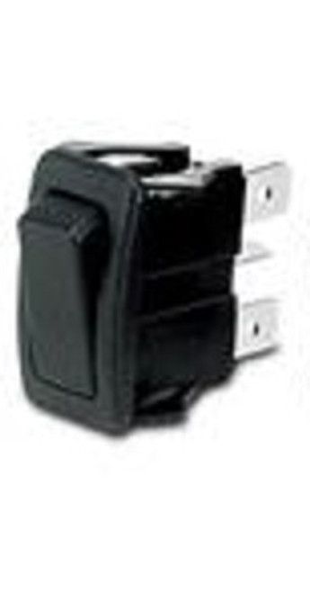 Otto sealed rocker switch, momentary on - off - momentary on, K1 series, single pole, K1ABEAAAAA