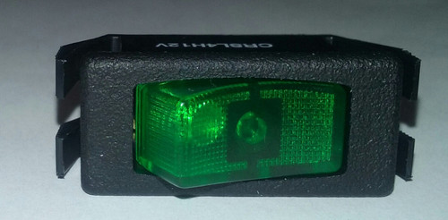 CRSL4H12V4M9 Oslo Illuminated High Inrush Rocker Switch
