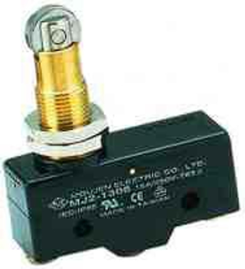 micro switch, roller, MJ2-1308, normally open & normally closed, 54-438, screw terminals, roller switch, limit switch, snap action, Imperial oven, Imperial range, door switch, Z-15GQ22-B, 35717, SPM7931409423, BZ-2RQ18M-A2, SW-34164, Blodgett, GPTCRH11, Thunderbird, TB-500E-40, E47BMS10