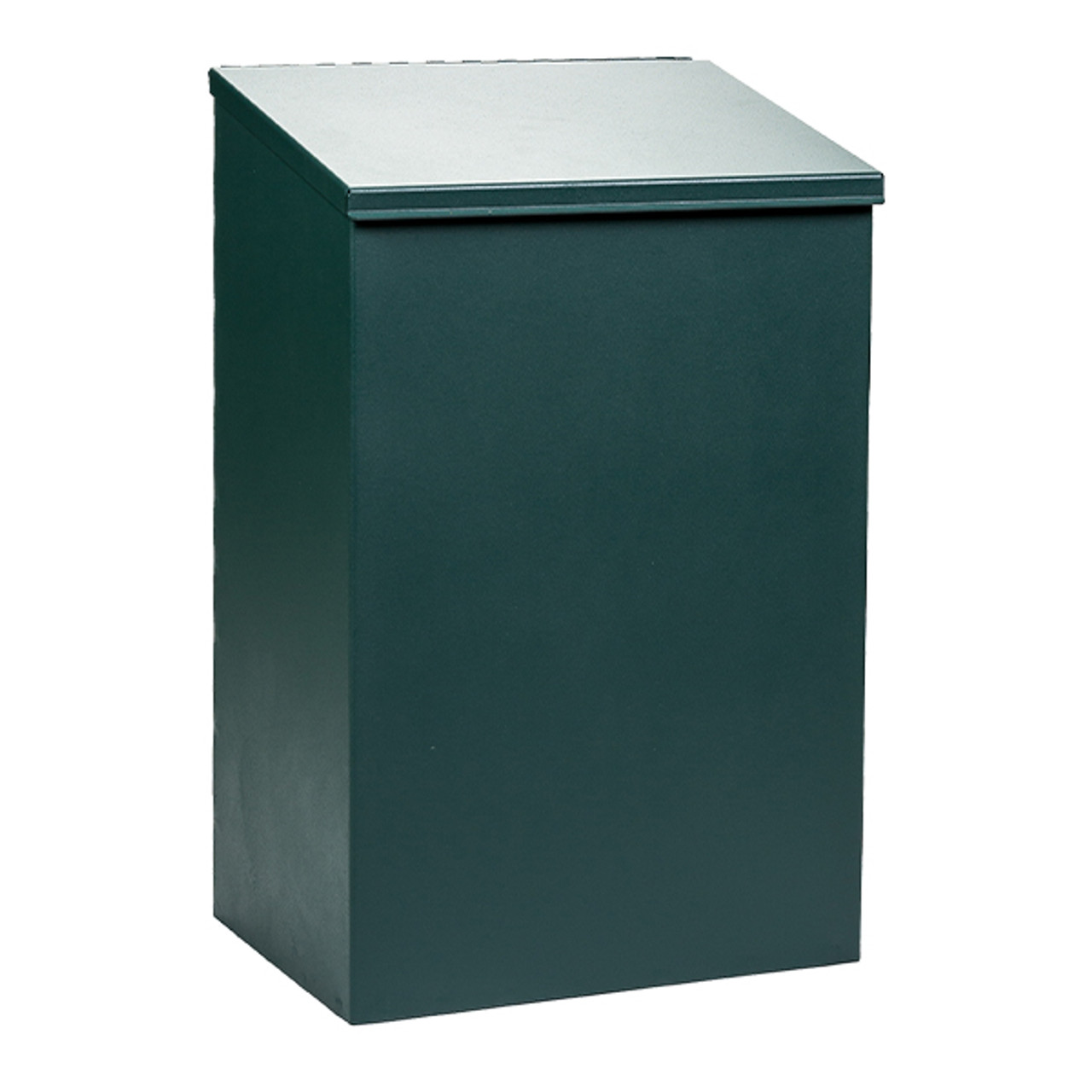 Square Waste Can- Aluminum with Lid