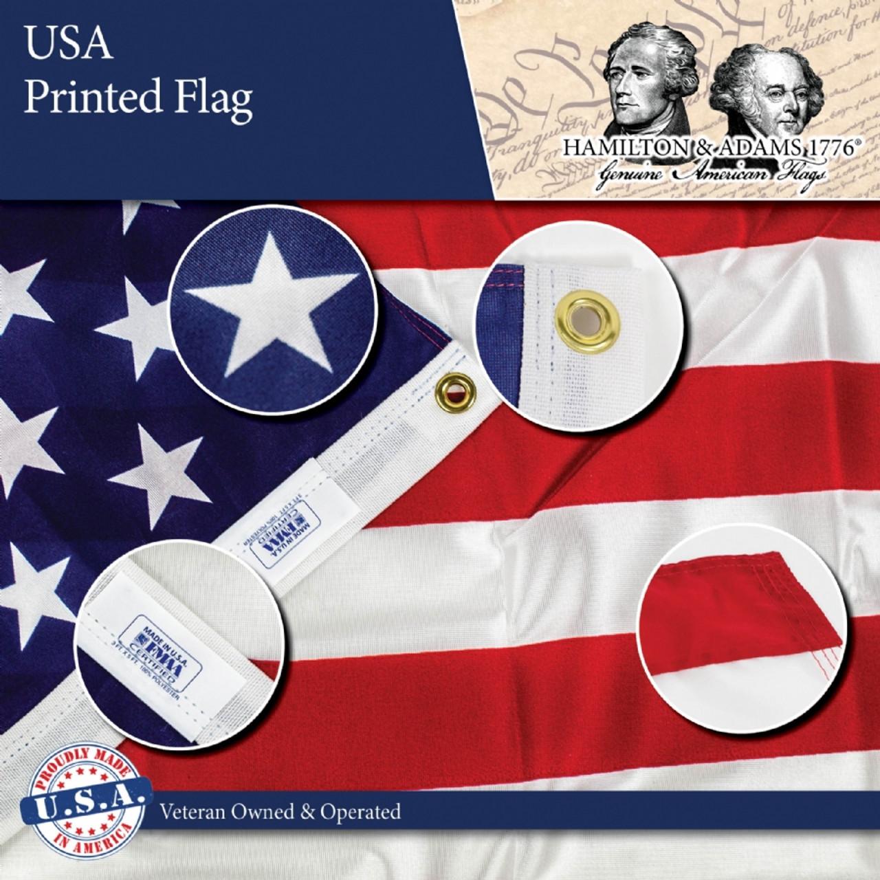 American Flag -Printed-3ft x 5ft