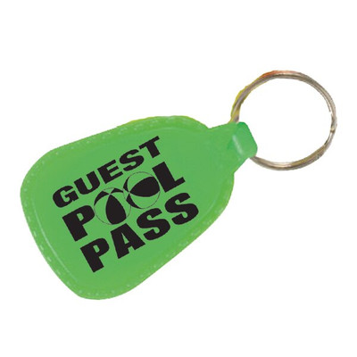 Guest Pool Pass Keychain