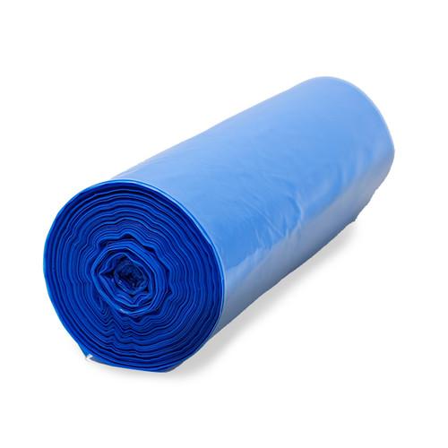 large dog blue roll bag