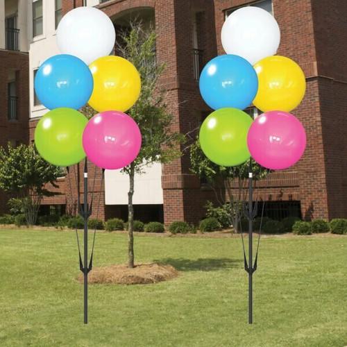 Balloon Cluster- Festive Flowers