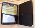 """Mini Deluxe 3/4"""" Folder includes an Extra 4' x 9' Clear Pocket for notes, plus Pen/ Pencil Slot ."""