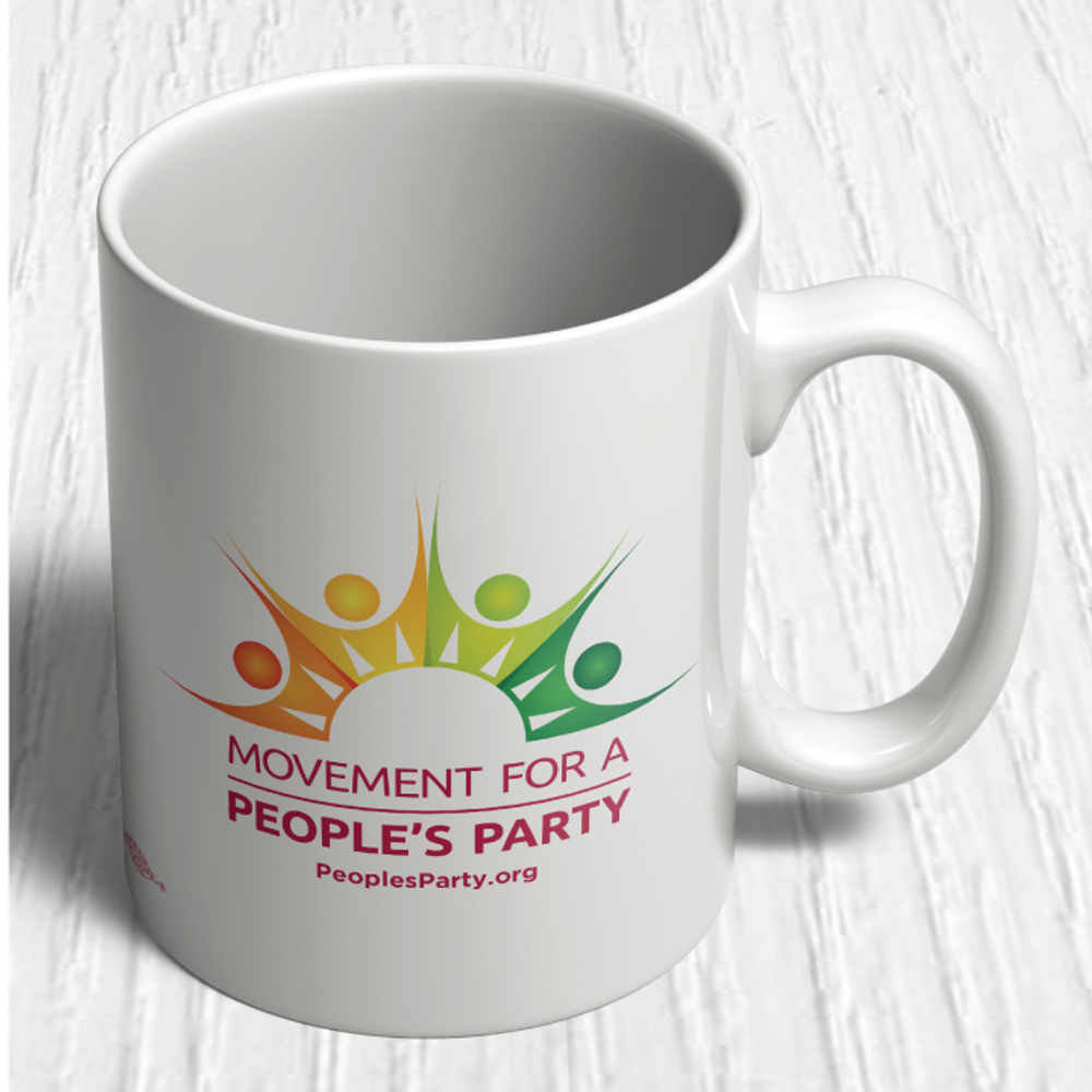 Movement For a People's Party Official Logo Mug