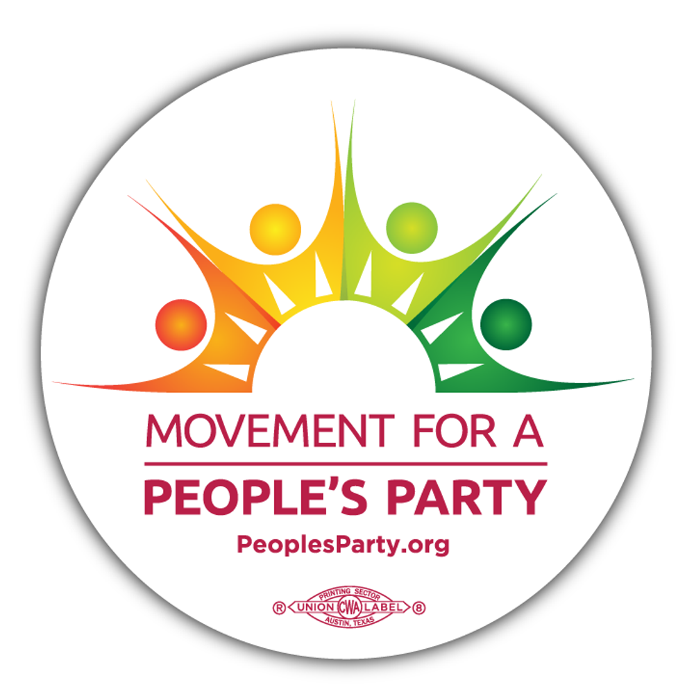 Movement For a People's Party Official Logo (20 Stickers)