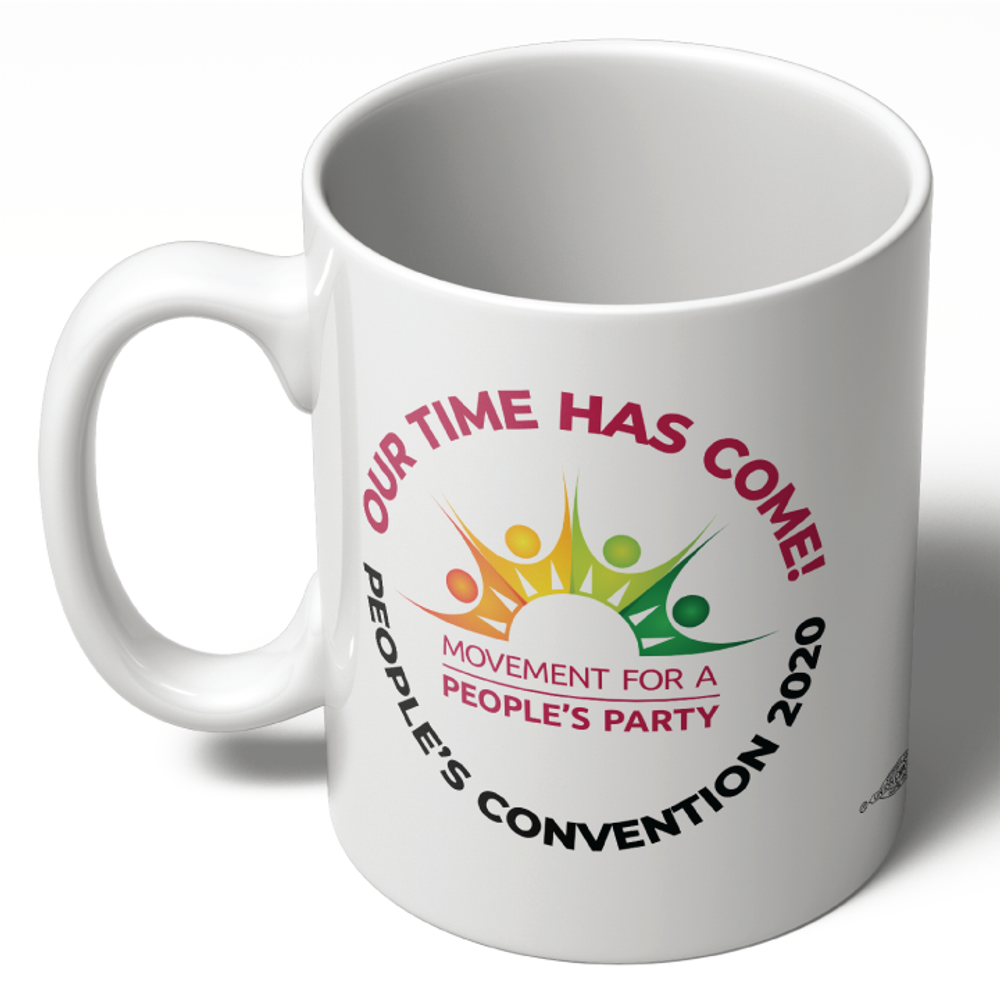 People's Convention 2020 Logo (11oz Ceramic Mug)
