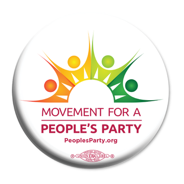 Movement For a People's Party Official Logo (50 Buttons)