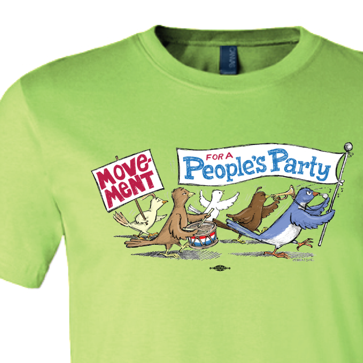 MPP Birdie Parade (Lime Green Tee)