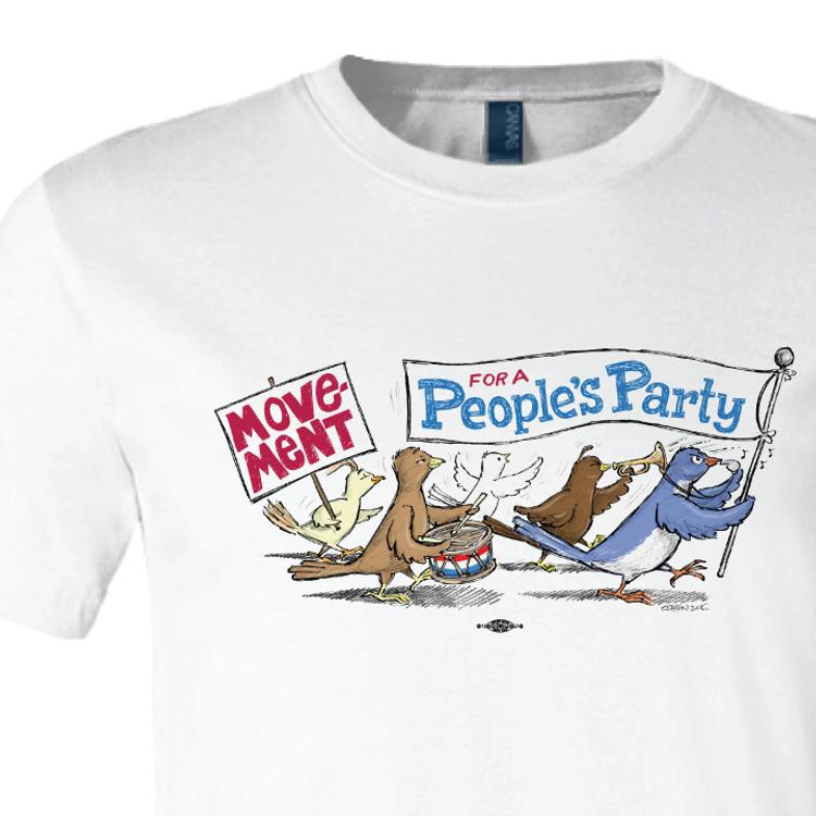 MPP Birdie Parade (White Tee)