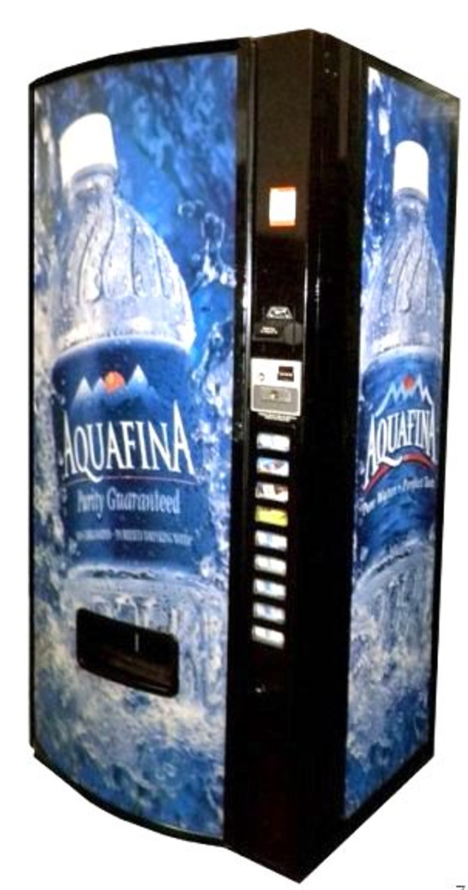 Refurbished Dixie Narco 600E Can/Bottle Soda Machine - Aquafina