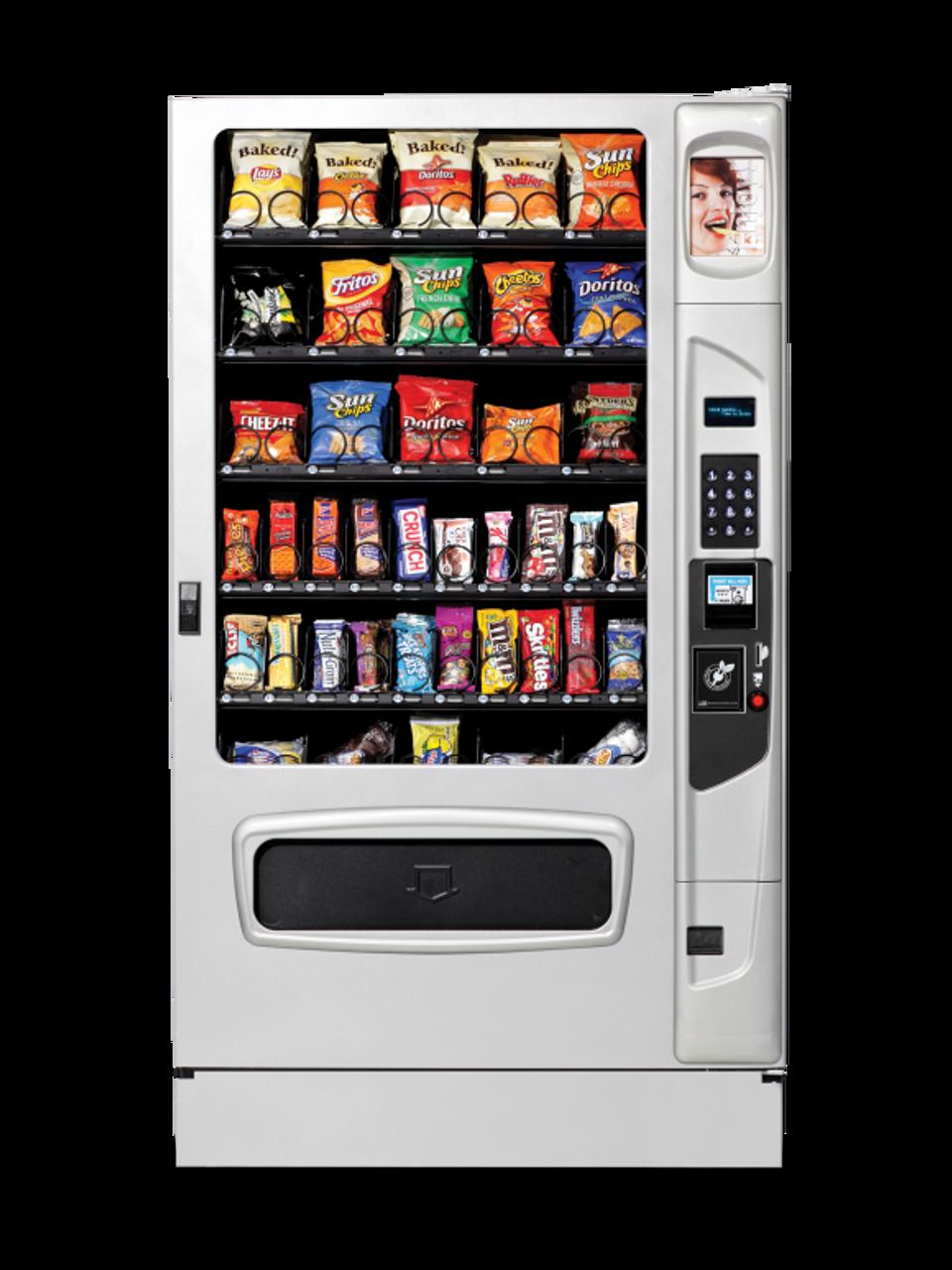 New USI Mercato 5000 Snack Machine