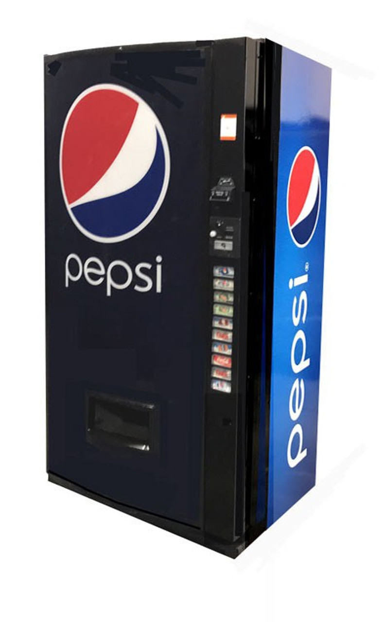 Refurbished Vendo 511 Can/Bottle Soda Machine - Pepsi New Age