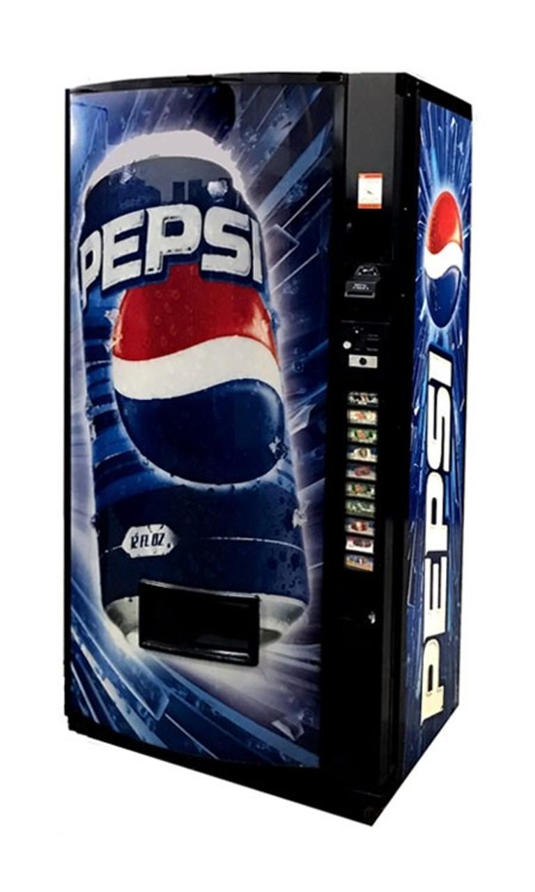 Refurbished Vendo 511 Can/Bottle Soda Machine - Pepsi Blast