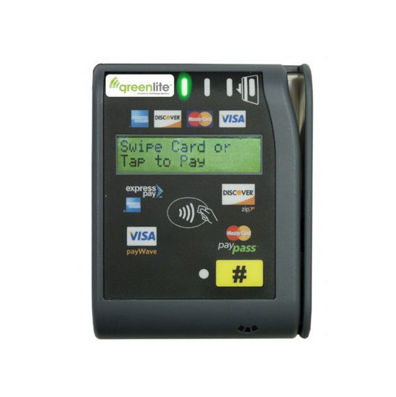 New Greenlite Cashless Credit Card Reader