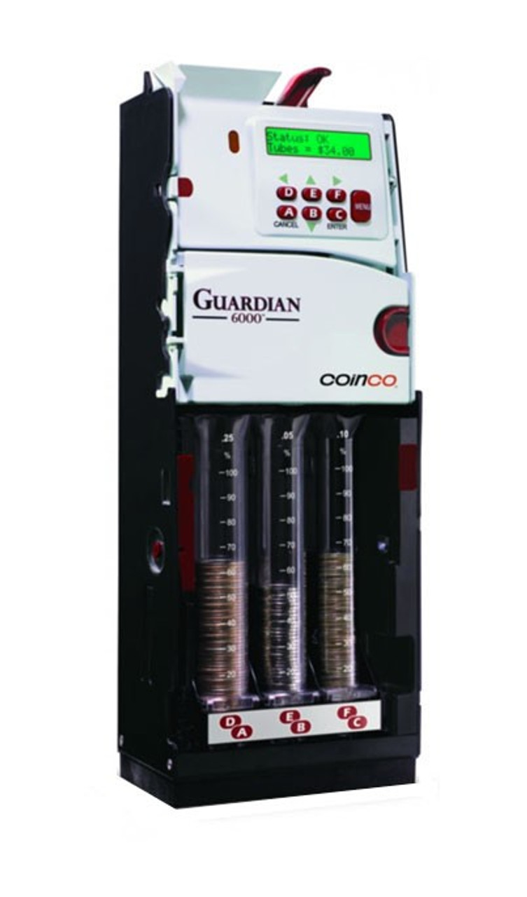 New Coinco Guardian GLX Series GLXUS Coin Changer (Guardian 6000XL Replacement)