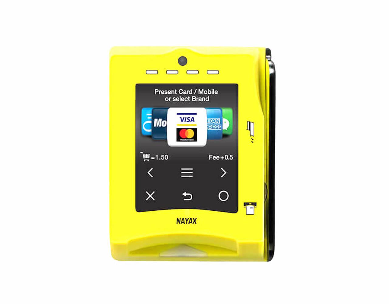 New Nayax VPOS Touch Credit Card Reader