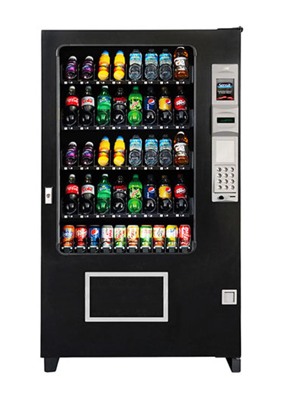 New AMS BEV  40 Glassfront Drink Machine