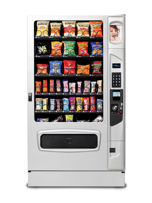 New USI Mercato 5000 Snack Machine