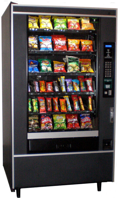 Refurbished National 147 Snack Machine