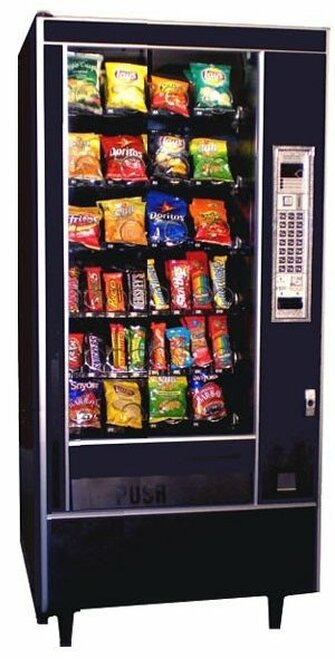 Refurbished AP 6600 Snack Machine