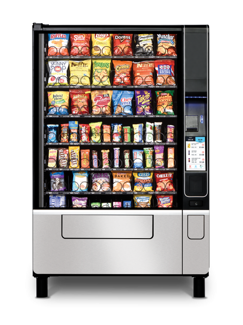 New USI Evoke 6 Snack Machine
