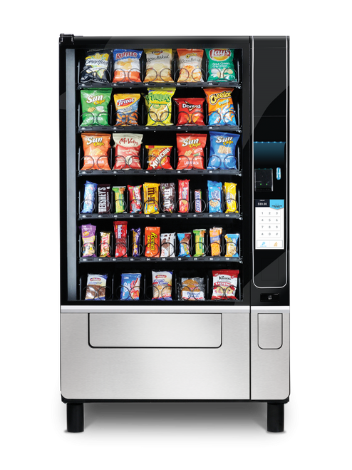 New USI Evoke 5 Snack Machine