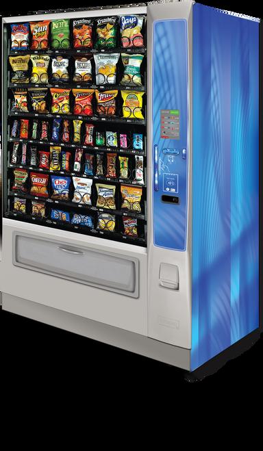New Crane Merchant Media Ambient Snack Machine - Wide