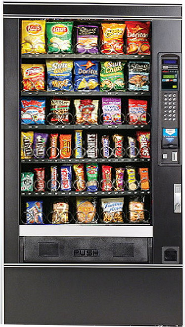 Refurbished National 167 Snack Machine