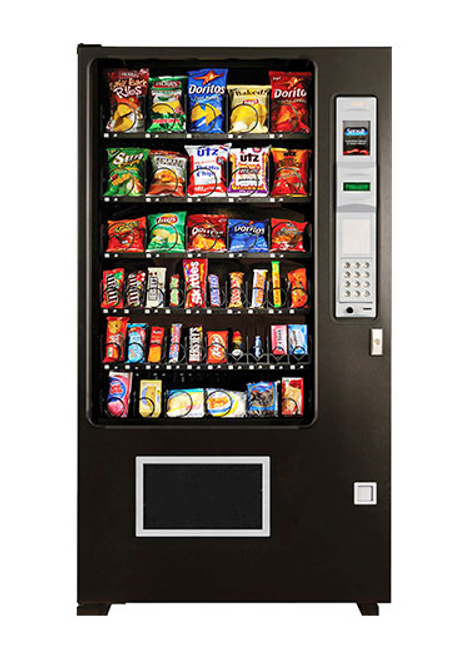 New AMS Wide Gem Snack Machine