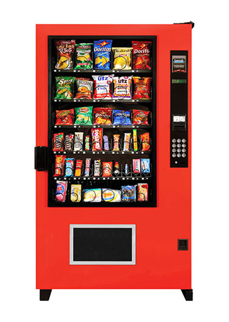 New AMS Outsider Snack Machine