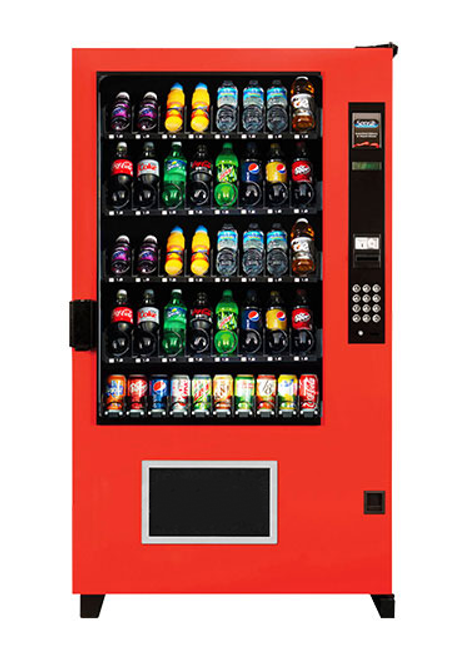Refurbished AMS Outsider Soda Machine