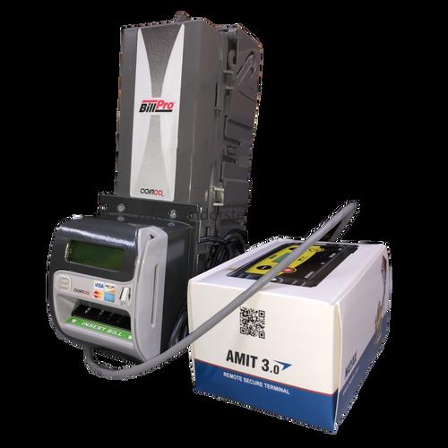 Refurbished Coinco BP2BX Bill Validator With CRX Card Reader & Nayax Amit Modem Kit