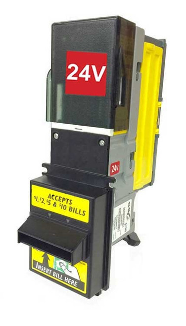New MEI VN-2702 Recycler Ready Bill Validator 2008 $5 Ready