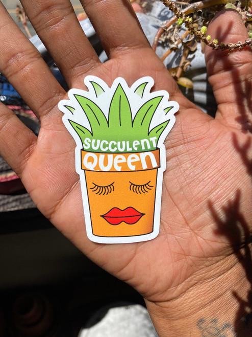 Succulent Queen magnet