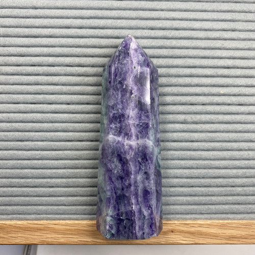 Rainbow Fluorite tower (large)