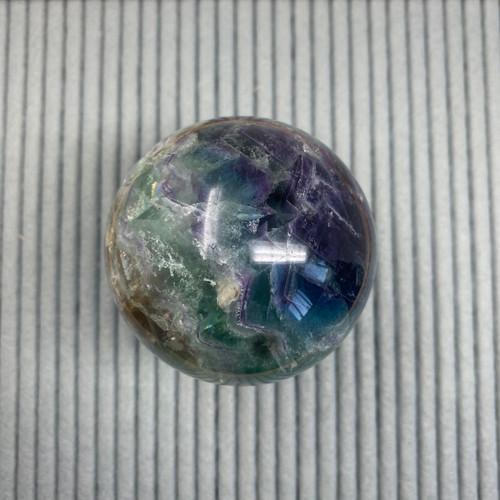 Rainbow Fluorite sphere (large)